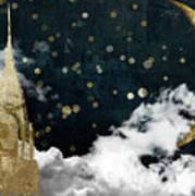 Cloud Cities New York Poster