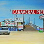Cocoa Beach/cape Canaveral Pier Poster