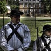 Colonial Williamsburg  V8 Poster
