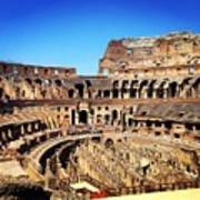 Colosseum Interior Poster