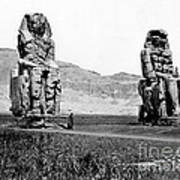 Colossi Of Memnon, Valley Of The Kings Poster