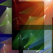 Coloured Lights II Poster