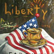 Contemplating Liberty Poster