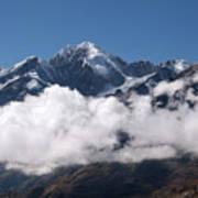 Cordillera Real And Illampu Poster