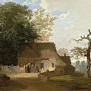 Cottage Scenery Poster