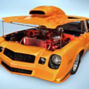 Custom Muscle Car Poster