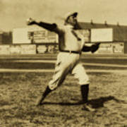 Cy Young With The Boston Americans 1908 Poster
