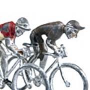 Cyclists Poster by Bernard Jaubert