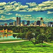 Denver City Park Poster