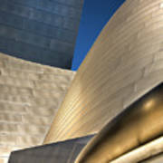 Disney Hall Abstract 2 Poster