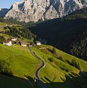 Dolomiti Landscape Poster