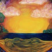 Dreaming Goddess Poster