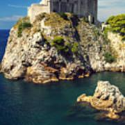 Dubrovnik King's Landing Fortress Poster