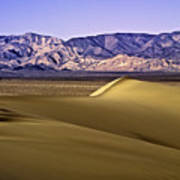 Dunes And Mountains Three Poster