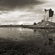 Dunguaire Castle Kinvara Co Galway Ireland Poster
