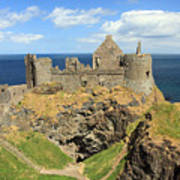 Dunluce Castle Northern Ireland Poster