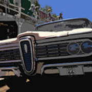Edsel On Route 66 Poster