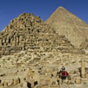 Egypt's Pyramids Of Giza Poster
