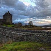 Eilean Donan Castle In The Morning Light Poster