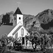 Elvis Chapel Arizona Poster