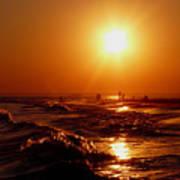 Extreme Blazing Sun Poster