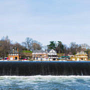 Fairmount Dam - Boathouse Row Poster