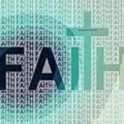 Faith - The Lord God Of Israel Poster