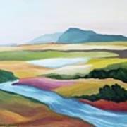 Fantasy Landscape Poster by Carola Ann-Margret Forsberg
