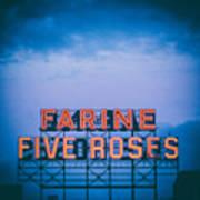 Farine Five Roses Poster