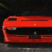 Ferrari 208 Gtb Turbo. Poster