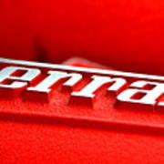 Ferrari Intake Poster