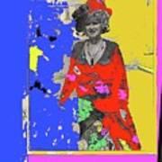 Film Homage Ann-margret Collage Train Robbers 1973 The Great White Hope Globe Arizona 1969 Poster