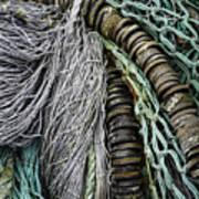 Fish Netting Husavik Iceland 3755 Poster
