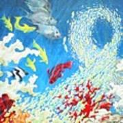 Fish Swarm Poster