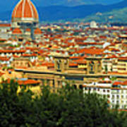 Florence, Italy Panoramic Poster