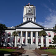 Florida State Capitol Building Poster