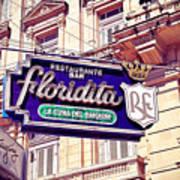 Floridita - Havana Cuba Poster