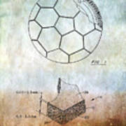 Football Patent Poster
