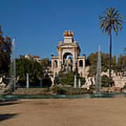 Fountain In A Park, Parc De La Poster