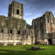 Fountains Abbey 6 Poster