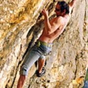 Free Climber Poster