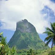 French Polynesia Moorea Poster
