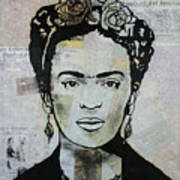Frida Kahlo Press Poster