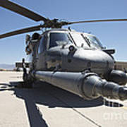 Front View Of A Hh-60g Pave Hawk Poster