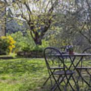 Garden In Spring Poster