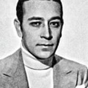 George Raft, Vintage Actor By Js Poster