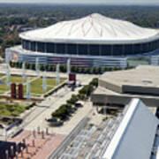 Georgia Dome In Atlanta Poster