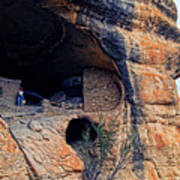 Gila Cliff Dwellings National Monument Poster