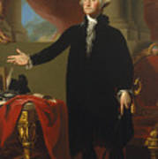 Gilbert Stuart - George Washington 1796 Poster