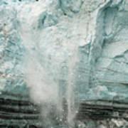 Glacier Calving 1a Poster